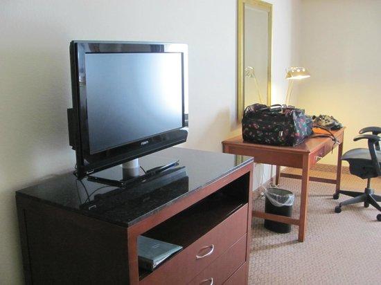 Hilton Garden Inn Cleveland Downtown: TV Set