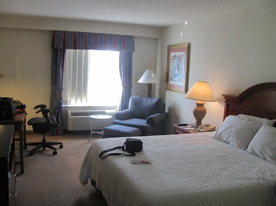 Hilton Garden Inn Cleveland Downtown: The Hotel Room