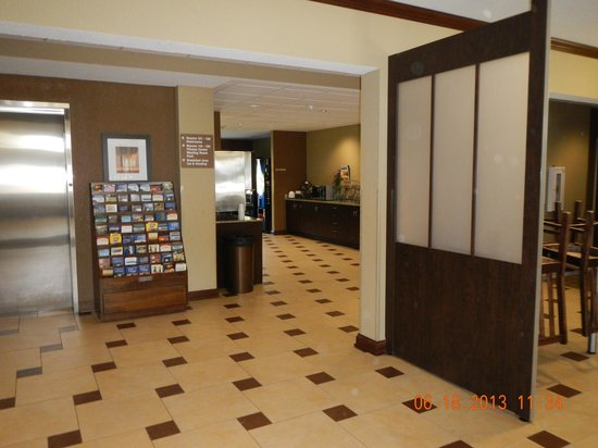 lobby picture of microtel inn suites by wyndham michigan city tripadvisor tripadvisor