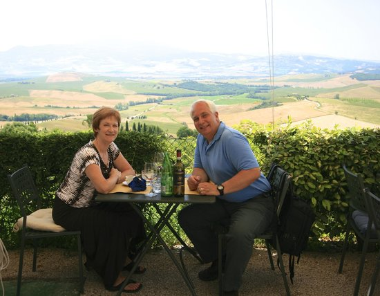 Terrazza Val D'Orcia : The perfect lunch spot in Pienza