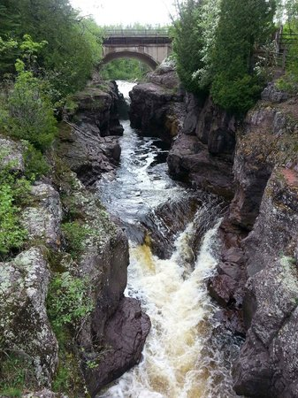 Temperance River State Park: On Lake Superior side