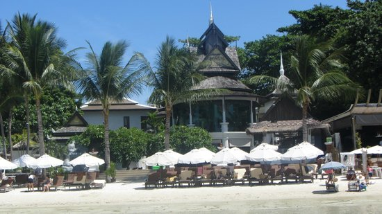 Dara Samui Beach Resort: The beach view