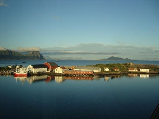 Thon Hotel Lofoten: Blick aus der 9. Etage