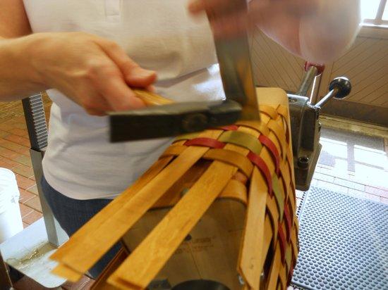 Longaberger Basket Factory/Homestead: Basket Making Experience