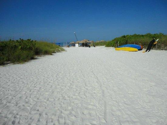Tropical Beach Resorts: Walkway to the beach