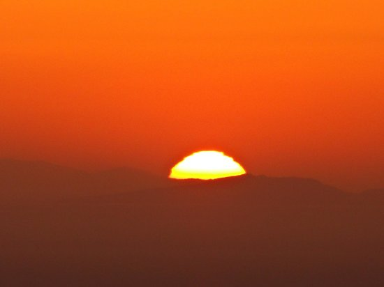 Andromeda Villas: sunset stunning