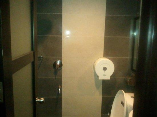 Maya Hotel & Spa: Washroom/toilet