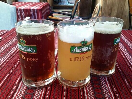 "Kozatska Gramota : Пиво и квас ""Тарас"""
