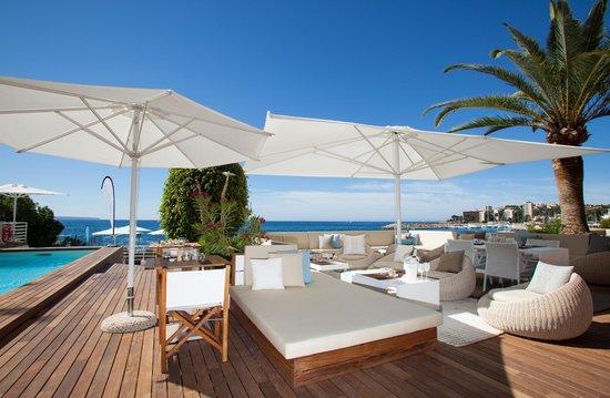 zhero beach club picture of cas catala majorca tripadvisor. Black Bedroom Furniture Sets. Home Design Ideas