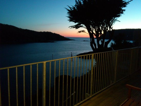 The Sunny Cliff Hotel & Apartments: Sunset at the Sunny Cliff