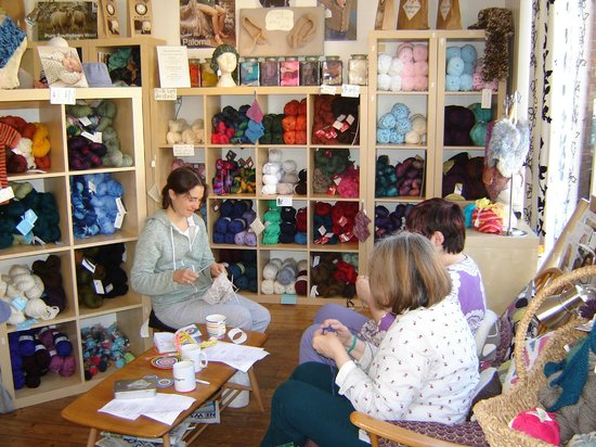 The Sheep Shop: Knitting group