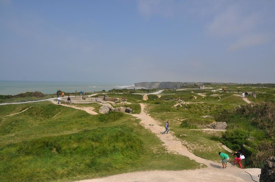 Military Might Day Tours: Area that encompasses Pointe du Hoc