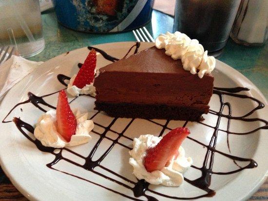 Main Street Cafe & Pub: The wonderful desert!