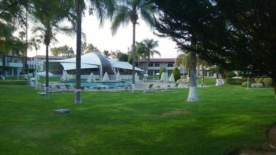 Hotel Las Trojes: Vista de la alberca