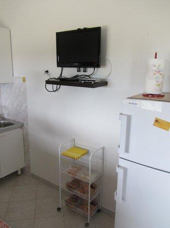 Tv in cucina - Picture of Agriturismo Cala Scoglietti ...