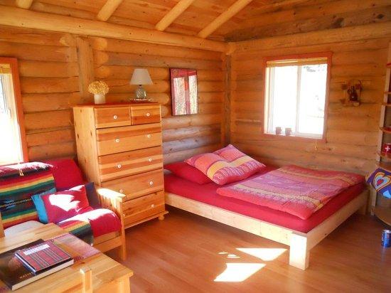 Bieri's Paradise Guest Farm : log cabin