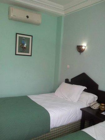 The Atlantic Hotel : chambre 2 lits