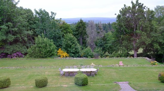 Assynt House: View from the porch