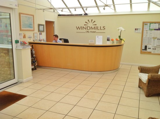 Windmills Hotel: at your service