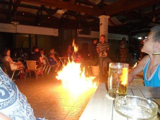 Alykanas Beach Apart-Hotel: Nickos having fun