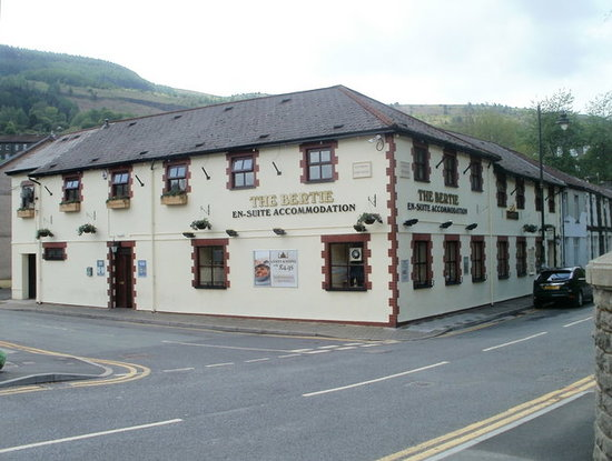 This very impressive pub stands proudly on the edge on the village of Trehafod. The Bertie has a