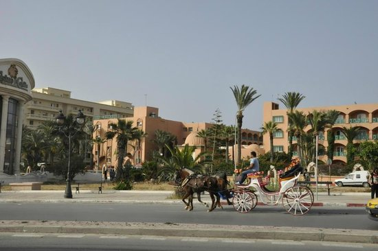 Le Marabout Hotel: outside view