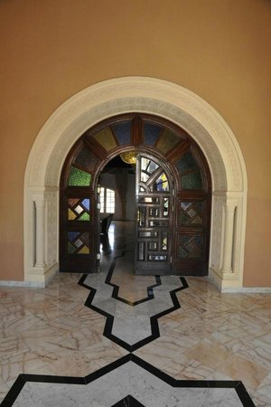 Le Marabout Hotel : Entrance in hotel