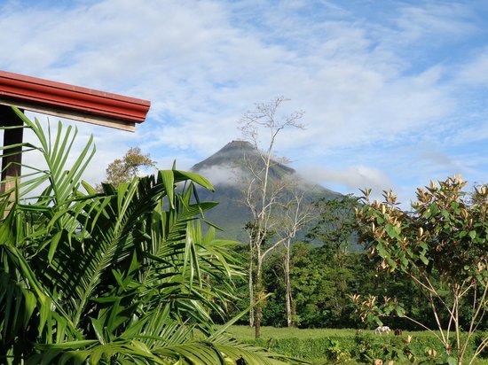 Casa Luna Hotel & Spa : Arenal Volcano from balcony