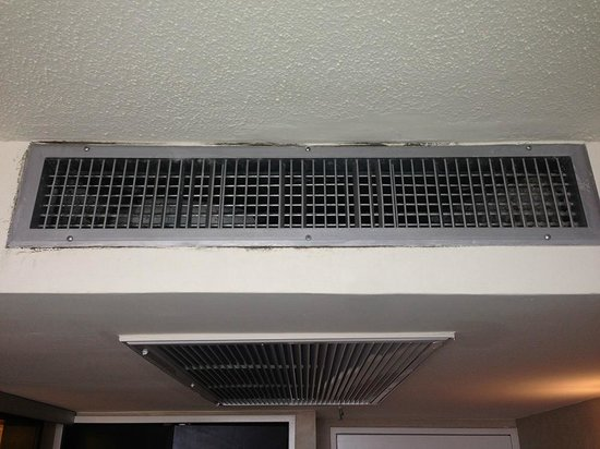 BLACK MOLD AC VENT Picture of The San Luis Resort Galveston