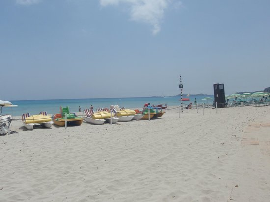 Palm Village Villasimius : beach