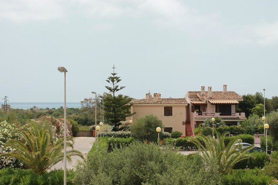 Palm Village Villasimius : view from our room