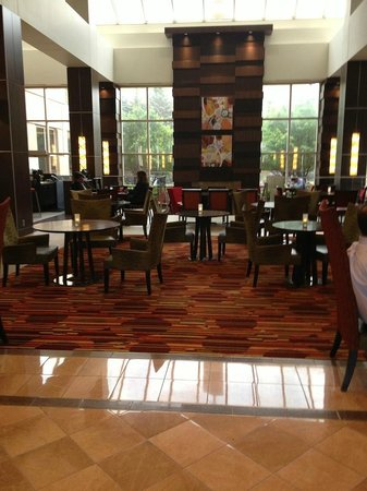 Minneapolis Marriott Southwest: Breakfast Bar Area