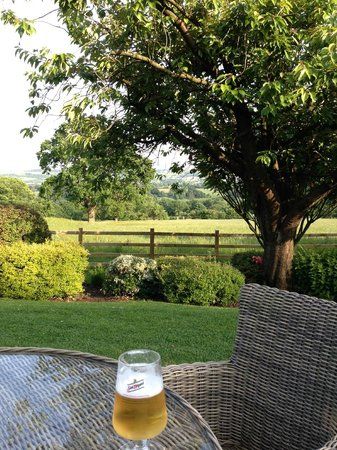 The Shireburn Arms: Views to relax by