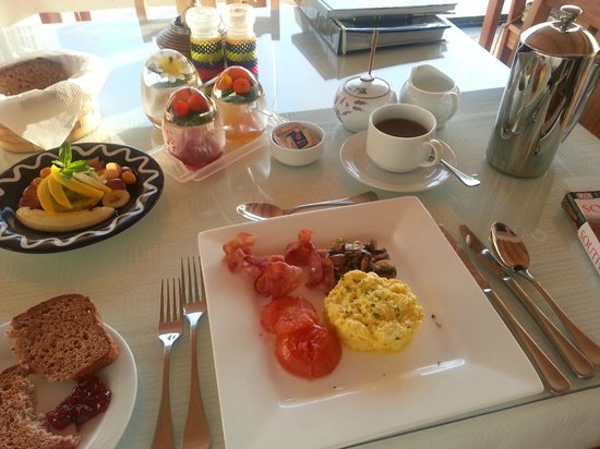 Linkside2 Guest house: It tastes as good as it all looks!