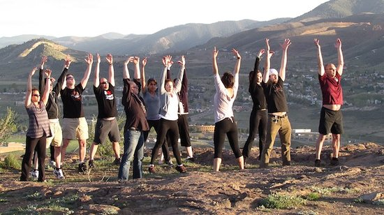 Hiking Yoga Vail, Colorado