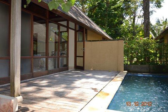 Komaneka at Tanggayuda: Private swimming pool