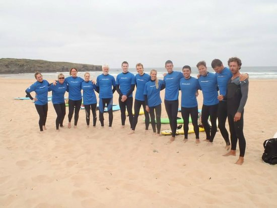 Casa Offshore Surf, Kitesurf & SUP Lodge: мы