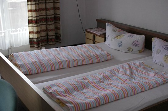 Hotel Sonnhof: The bed and bedlinen
