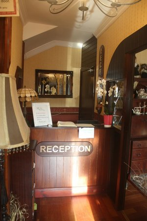 The Bayview : reception desk