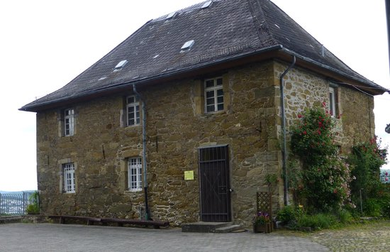 Wilhelmsturm: Stock house (jail) up at the castle (Wilhelmstower)