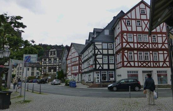 Wilhelmsturm: Down town Dillenburg