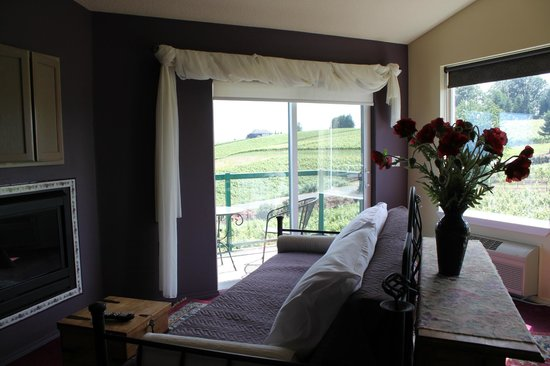 Wine Country Farm: Sunset Suite overlooking the vineyards