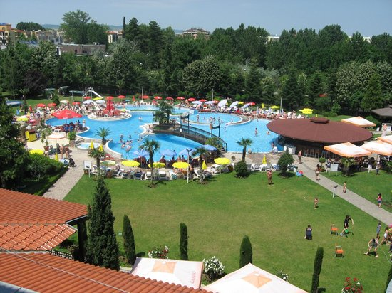 Hotel pool picture of hotel hrizantema sunny beach - Sunny beach pools ...