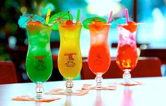 Crabby's: Favorite Pirate Drinks