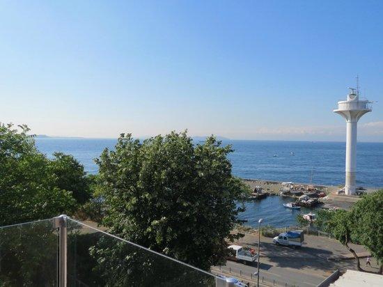 Mangana Konak: Terrace view