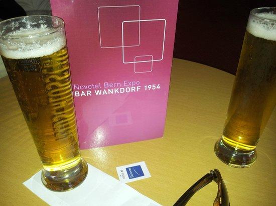 Novotel Bern Expo: Last beers ;-)