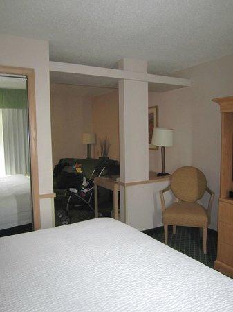 Fairfield Inn & Suites Dallas North by the Galleria : Studio King