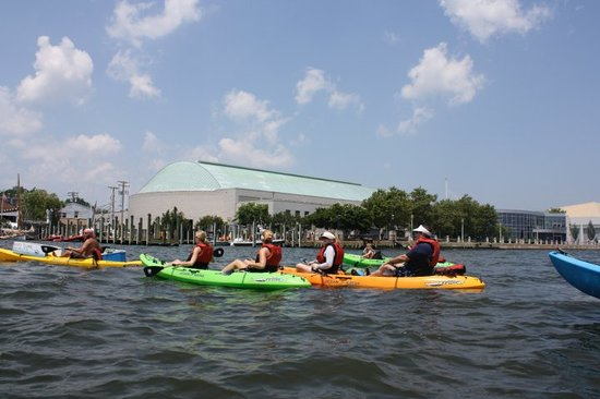 Kayak Annapolis LLC: Enjoying a great tour!