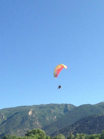 Adventure Paragliding, Glenwood Springs, CO - so much fun!  And not scary at all!!!!