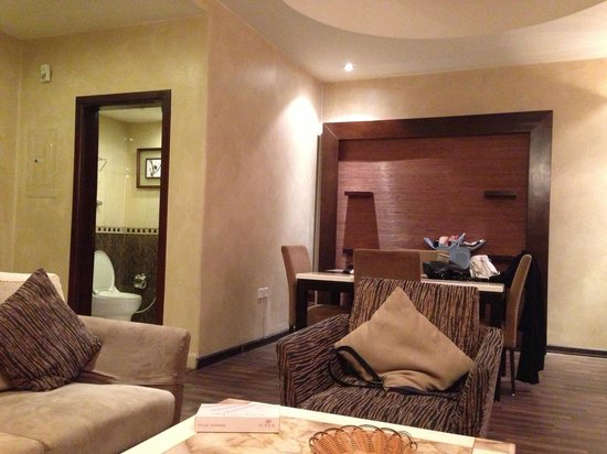 Boudl Al-Masif: Dinning Area